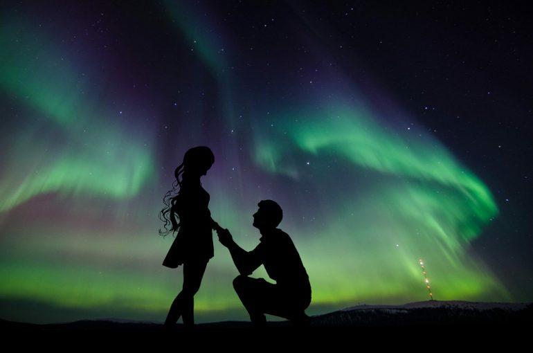 Couple en Islande