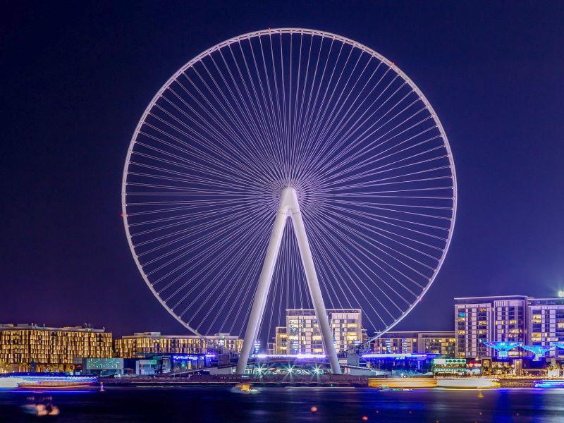 Grande roue à Dubaï