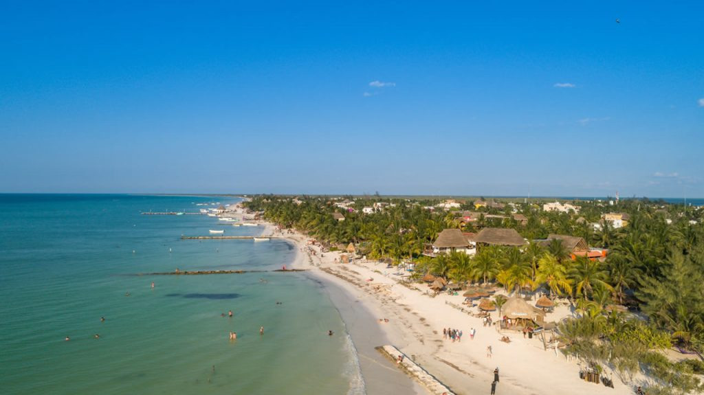 Holbox plage Mexique
